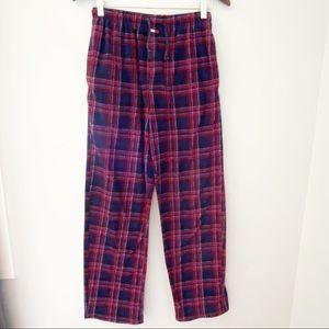 Tommy Hilfiger Men's Fleece Plaid Pajamas Pants
